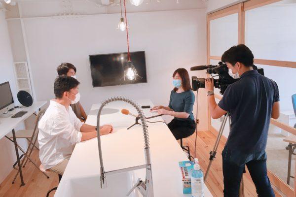 BSN新潟放送様に取材をしていただきました!